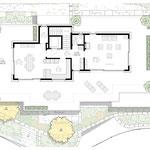 Grundriss Attikageschoss (5.5-Duplex-Attikawohnung)
