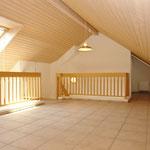 Viel zusätzlicher Raum: Das schöne Galeriegeschoss mit…