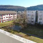 Blick von einem der beiden Balkone