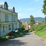 Malerisch: Die Zufahrt Rütelistrasse
