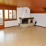 Viel Platz: 35 m2 grosses Wohnzimmer