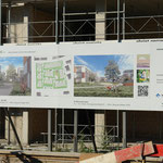 Der Baubeginn ist bereits erfolgt.