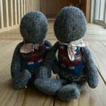 セーター人形 横浜の保育園にあったものが気に入って型紙をいただき、作りました