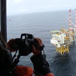 Prüfung von Off-Shore-Plattformen