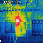 VdS-anerkannte Elektrothermografie