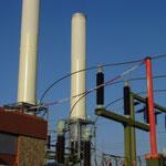 Prüfung von Kaminen und Kraftwerkseinrichtungen