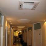 Innengerät Klimaanlage Augenarztpraxis | www.kaelteanlagenbau.com
