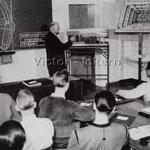 Unterricht in der Bergberufsschule Victor III/IV