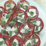 Doris Maier: Tomaten und Mozzarella