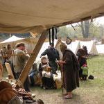 5. Wikinger- und Mittelalterspektakel 2011 in Berlin - Hans Nuss gibt wieder Weisheiten zum Besten