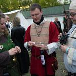 5. Wikinger- und Mittelalterspektakel 2011 in Berlin - Ein Schnaps in Ehren kann niemand verwehren