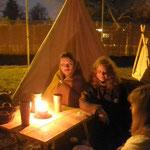 5. Wikinger- und Mittelalterspektakel 2011 in Berlin - Abendstimmung
