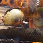 5. Wikinger- und Mittelalterspektakel 2011 in Berlin - Eierman bekommt eine Feuerbestattung