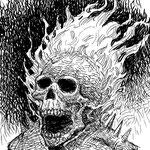Boceto de Ghost Rider