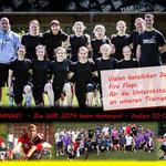 Trainingsspiel mit der Frauen Nationalmannschaft 2014