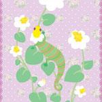 花トカゲ1