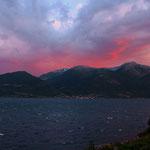 Sonnenuntergang bei Utne