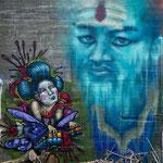Grafitti, welches schon eher an Kunst erinnert.