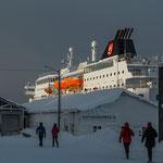 MS Nordlys in Finnsnes