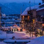 Blick auf den Markt von Tromsø