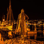 Die Klippfischfrau in Kristiansund.