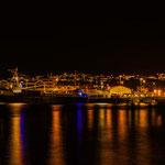 Kristiansund ist auch nachts schön.
