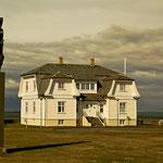 In diesem Gebäude Höfði trafen sich 1986 Gorbatschow und Reagan.
