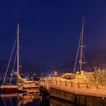 Segelboote im Hafen von Tromsø