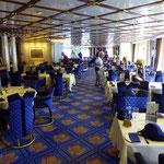 Das Restaurant Märtha Salen ist gemütlich eingerichtet.