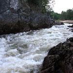 Wasserdurchfluss an der R 455