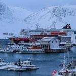 Honnigsvåg - ein kleines Fischerstädtchen