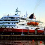 Die MS ist ein stolzes Schiff und wurde 1993 in Stralsund gebaut.