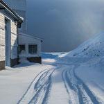 Finnsnes ist winterlich