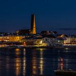 Die Skyline von Vardø.