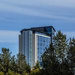 Viele moderne Hotels wurden in Reykjavik neu gebaut, der Tourismus boomt.