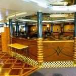 Das Cafe Roald Amundsen ist rund um die Uhr geöffnet.