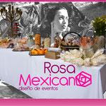Fuente de chamoy, mexicana para bodas de plata