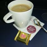 Kaffee - 1. Klasse, 1. Sahne