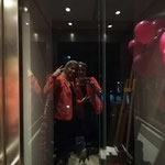 Und nach der Veranstaltung geht es wieder mit dem Fahrstuhl nach unten. :-)