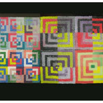 Acrylic glass,pigment, silicone carpet, Hayaka Arti, Istanbul, Turkey, 2009.