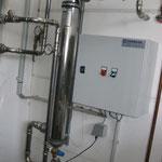 Wärmetauscher und Steuerung