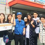 H28/9/24岐阜よりお買い物に来ていただいた中川様ご家族!な・なんと4世代家族です!みなさんとてもお若いです。やっぱり魚を食べてるからでしょうね。