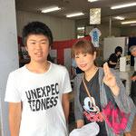 H29/8/26お買い物に来ていただきました中山さん親子!