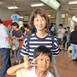 H29/8/26お買い物に来ていただきました小林さん親子!