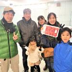 H30/1/21素人セリ会場にて古橋様ご家族をパシャリ!
