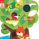 magazine Picoti gribouille oct/noc/dec 2011 illustrations - marc clamens, laurence jammes ed.Milan presse