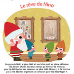 Magazine Histoires pour les petits décembre 2013 - illustrations  laurence jammes, marc clamens ed. Milan presse