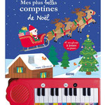Mes plus belles comptines de Noël illustrations © marc clamens 2014 - éditions AUZOU
