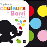 La palette de couleur de BARRI - conception, illustrations, textes © marc clamens - editions HATIER 2014