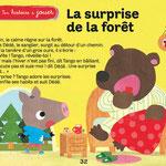 magazine Toupie janvier 2012 illustrations - laurence jammes, marc clamens, ed.Milan presse